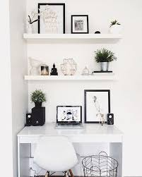 Starting Our Feed With This White Workspace Regram From Hayley In Australia We Love The Clean Monochrome Copper Aesthetic So Bright Light And