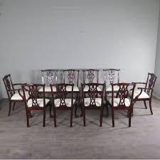 set versace esstisch ausziehbar 1 85 m 2 85 m 10 stühle