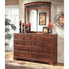 Sauder Shoal Creek Dresser Oiled Oak by Signature Design By Ashley Timberline 8 Drawer Dresser With