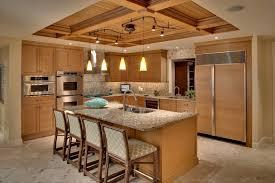 kitchen room design ideas spiral track lighting kitchen tropical