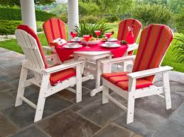 Red Adirondack Chairs Polywood by Furniture Stunning Polywood Furniture For Outdoor Furniture Ideas