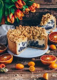poppy seed crumble cheesecake