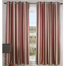 White And Gray Striped Curtains by Black And Red Curtains For Kitchen Red Kitchen Curtain By Wine