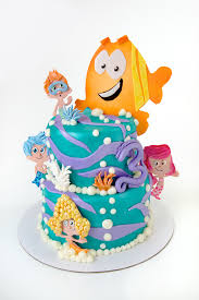 Bubble Guppies Cake Toppers by Bubble Guppies Cake Wyatt U0027s Third Birthday Cake Todd Clement