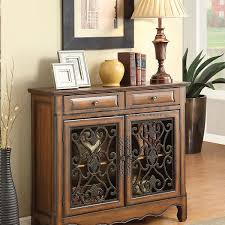 A Stately Storage Piece For Your Decor In Living Room Or Foyer This Coaster 950358