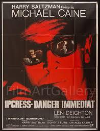 antyki i sztuka the ipcress file michael caine vintage