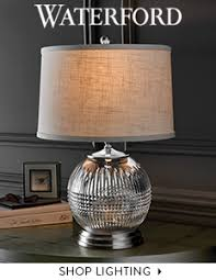 Waterford Lamp Shades Table Lamps by Waterford Crystal Stemware China Lighting U0026 Gifts Usa