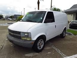 2005 Chevrolet Astro Gasoline 3 Door With Bucket Seats