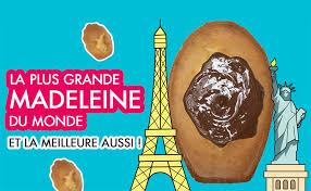 de chefclub madeleine backform für riesenmadeleine