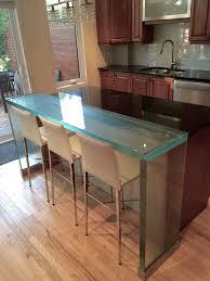 100 Kitchen Glass Countertop Think Lunch Counter And Waterfall Legs Wwwthinkglasscom