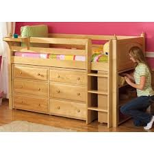 Low Loft Bed With Desk And Dresser by 10 Best Loft Beds Work And Storage Images On Pinterest Lofted