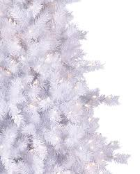 7ft Pre Lit Christmas Trees by Moonlight White Tinsel Artificial Christmas Tree Treetopia