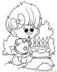 Crayola Free Coloring Pages Print Trolls Biggie And