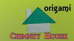 100 Origami House How To Make A Paper Chimney House Origami House Tutorial Easy For Kids And Beginners