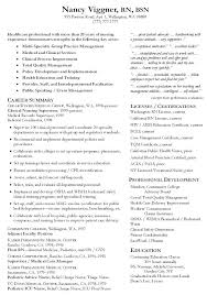 Incredible Ideas Nurse Manager Resume Sample For Nursing Example Student Graduate Samples