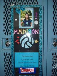 Best 25 Volleyball Locker Decorations Ideas On Pinterest Homemade Poster