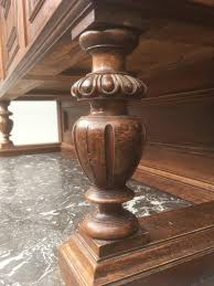 buffet antik geschnitzte kredenz gründerzeit wohnzimmer schrank