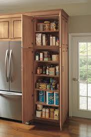 Stand Alone Pantry Closet by Kitchen American Woodmark Pantry Cabinet Small Wood Kitchen