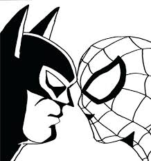 Printable Batman Coloring Pages Free Sheets Superhero Image Superman Vs