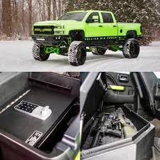 100 Truck Console Safe Locker Down Lockerdown_usa Instagram Photos Videos