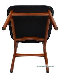 Mid Century Danish Modern Teak Dining Chairs Black Leather Vintage ... Mid Century Modern Lounge Chair Set 4 Eames Soft Pad High Herman Milo Baughman For James Inc Recliner In Original Fabric Arne Vodder France Sons Danish Teak Recling Chairs Midcentury Modern Fniture Ding Target Vintage Mid Century Danish Modern Recliner Lounge Chair Eames Mafia Building A Shaun Boyd Made This Miller White 670 671 Leather Ottoman Chair Png Sling Midcentury Selig Swivel