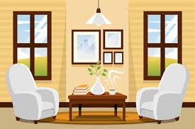 Home Interior Pics Home Interior Hintergrund Videokonferenz Premium Vektor