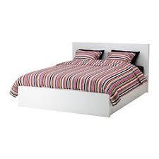 MALM Storage bed white Queen IKEA