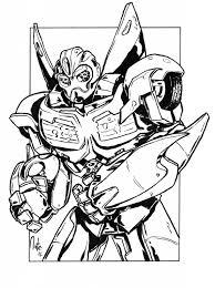 Bumblebee Transformer Car Coloring Pages Transformers Regarding