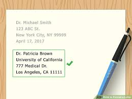5 Clear and Easy Ways to Format a Letter wikiHow