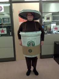 Coolest Starbucks Coffee Cup Costume Idea