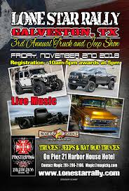 Truck And Jeep Show - Lone Star Rally
