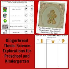 Gingerbreadthemescienceactivitiesforpreschoolandkindergarten