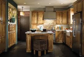 Kitchen Rustic Cabinets White Country Wall Decor Flooring Ideas Farmhouse Industrial