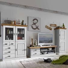 wohnkombination lugon im landhaus design 3 teilig
