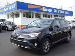 Used 2017 Toyota RAV4 Hybrid Hybrid, All Wheel Drive, Bluetooth For ...