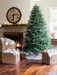 Downswept Christmas Tree Artificial by Decorating Simple Balsam Hill For Interesting Interior Home Design