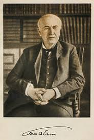 Who Invented The Electric Lamp by Thomas Edison Wikipedia