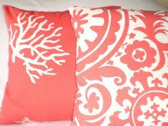 Coral Colored Decorative Accents by Coral Pillow Decorative Throw Pillow Covers Accent Pillows 20 X