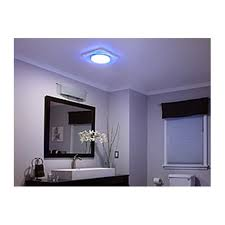 Nutone Bathroom Fan Replacement Bulb by Nutone Qtnledb Lunaura Square Design Light Built In Household
