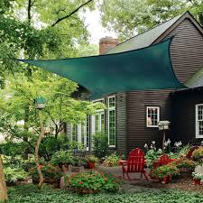Aliexpress.com : Buy Jinguan Net 20' X 20' Sun Shade Sail, Dark ... 13 Cool Shade Sails For Your Backyard Canopykgpincom Image Of Sun Sail Residential Patio Sun Pinterest Stunning Carports Pool Triangle Best Diy Awning Youtube Structures Fabric Square Home Design Ideas Shadelogic Heavy Weight 16 Foot Lime Green Amazoncom Lawn Garden Area Rectangle X 198 For Decks Large Awnings Posts Using As Canopy Outdoor