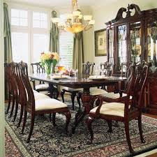 And A Chippendale Style Dining Room