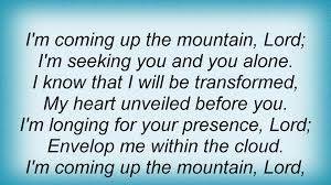 Matt Redman - I'm Coming Up The Mountain Lyrics Lyrics - YouTube Rough Side Of The Mountain Youtube The Barnes Family Of Im Coming Up On Gloryland Gospel Blog On Malaco Records What Will You Be Doing Franklin Lee Wyatt Plays With Wings Fc Janice Brown Barnes Janice Brown Rough Side I Shall Not Moved Rev God Heal Land Amazoncom Music