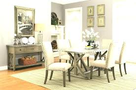 Transitional Dining Rooms Room Sets New 7 Piece Style Table