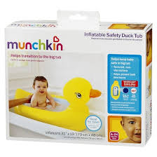 Inflatable Bath For Toddlers by Munchkin White Inflatable Duck Safety Baby Bath Tub Target