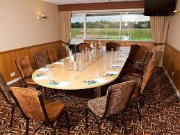 Business Meetings View More Table Set Up At Wolverhampton Racecourse
