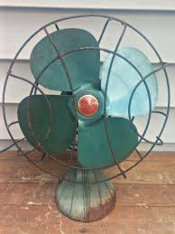 12 Oscillating Desk Fan by Vintage Sterling Chicago Electric Manufacturing Company