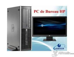 ordinateur de bureau neuf ordinateur de bureau hp elite 8000 neuf ouagadougou région du