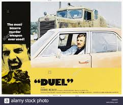 Duel (1971) Directed By Steven Spielberg And Starring Dennis Weaver ...
