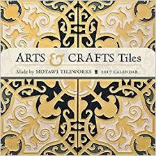 arts crafts tiles 2017 mini wall calendar co uk