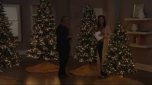 Qvc Pre Lit Christmas Trees by Santa U0027s Best Starry Light Microlight Tree W Color Flip Led Lights